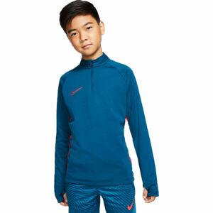 Nike DRY ACDMY DRIL TOP B modrá XL - Chlapecká fotbalová mikina