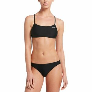 Nike SOLID černá M - Dámské dvoudílné plavky