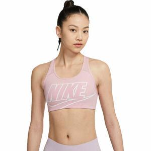 Nike SWOOSH FUTURA BRA  S - Dámská sportovní podprsenka