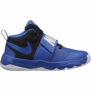 Nike TEAM HUSTLE D8 GS modrá 6 - Dětská basketbalová obuv