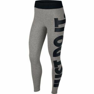 Nike NSW LEGASEE LGGNG HW JSI šedá XL - Dámské legíny
