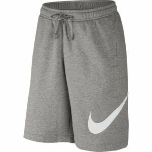 Nike SHORT FLC EXP CLUB šedá 2xl - Pánské kraťasy