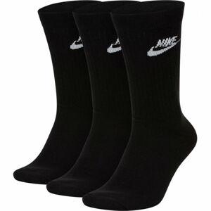 Nike SPORTSWEAR EVERYDAY ESSENTIAL černá 34-38 - Unisex ponožky