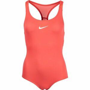 Nike SOLID oranžová XL - Dívčí plavky