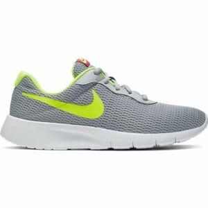 Nike TANJUN tmavě šedá 7Y - Dětské volnočasové boty