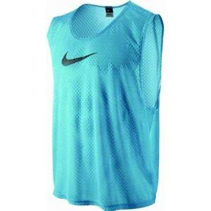 Nike TEAM SCRIMMAGE SWOOSH VEST modrá L/XL - Rozlišovací dres
