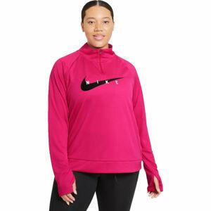 Nike SWOOSH RUN HZ MIDLAYER W  XS - Dámská běžecká mikina