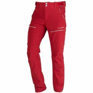 Northfinder GUHIJAN červená M - Pánské outdoorové kalhoty