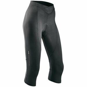 Northwave CRYSTAL KNICKERS W černá 2xl - Dámské 3/4 cyklo kalhoty