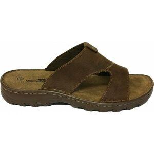 Numero Uno BOULD hnědá 41 - Pánské pantofle