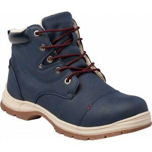 Numero Uno MARTEN M modrá 45 - Pánská zimní obuv - zateplená