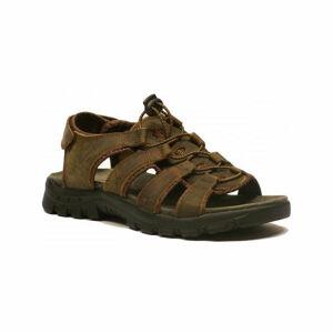 Numero Uno VULCAN M hnědá 44 - Pánské trekové sandály