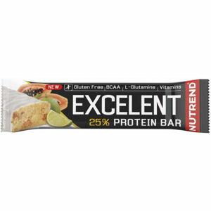 Nutrend EXCELENT LIMETKA+PAPÁJA 85g   - Proteinová tyčinka