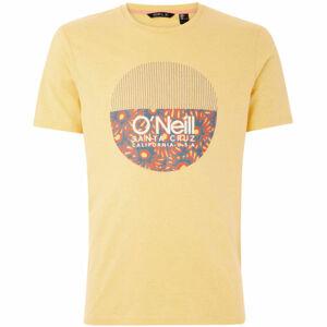 O'Neill LM BEDWELL T-SHIRT žlutá L - Pánské tričko