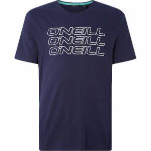 O'Neill LM 3PLE T-SHIRT tmavě modrá S - Pánské tričko