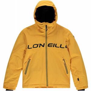 O'Neill PB VOLCANIC JACKET  176 - Chlapecká lyžařská/snowboardová bunda
