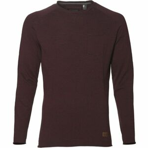 O'Neill LM JACK'S BASE PULLOVER vínová XL - Pánské triko s dlouhým rukávem