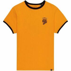 O'Neill LB BACK PRINT S/SLV T-SHIRT žlutá 128 - Chlapecké triko