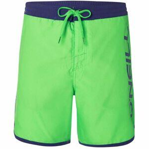 O'Neill PM FRAME LOGO SHORTS světle zelená L - Pánské šortky do vody