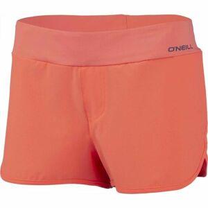 O'Neill PW ESSENTIAL BOARDSHORTS oranžová M - Dámské boardshorts