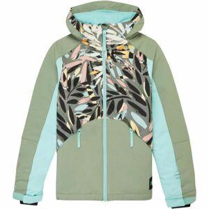 O'Neill PG ALLURE JACKET zelená 176 - Dívčí lyžařská/snowboardová bunda