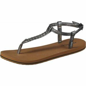 O'Neill FW BRAIDED DITSY PLUS SANDAL tmavě šedá 37 - Dámské sandály