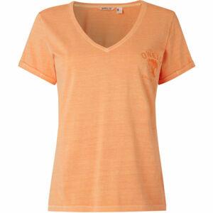 O'Neill LW GIULIA T-SHIRT zelená XS - Dámské tričko