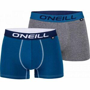 O'Neill BOXER PLAIN 2PACK šedá S - Pánské boxerky