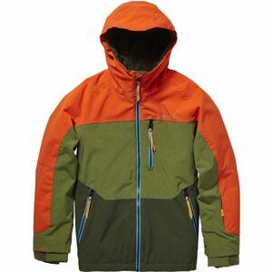 O'Neill PB ASTRON JACKET oranžová 128 - Dětská bunda