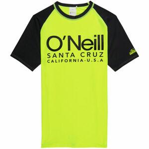 O'Neill PB CALI S/SLV SKINS žlutá 14 - Chlapecké tričko