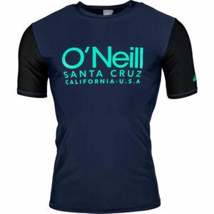 O'Neill PM CALI S/SLV SKINS černá S - Pánské tričko do vody