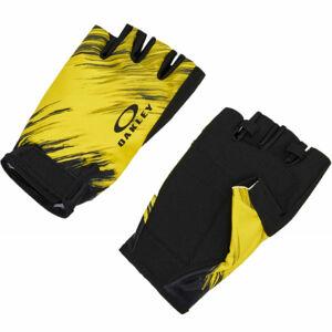 Oakley GLOVES 2.0 žlutá S/M - Cyklistické rukavice