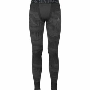 Odlo SUW MEN'S BOTTOM PERFORMANCE BLACKCOMB tmavě šedá L - Pánské funkční kalhoty