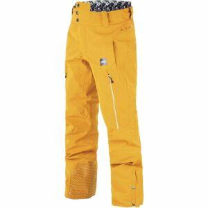 Picture OBJECT žlutá XL - Pánské zimní kalhoty