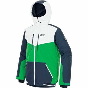 Picture PANEL zelená XL - Pánské zimní kalhoty