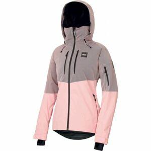 Picture SIGNE růžová L - Dámská zimní bunda