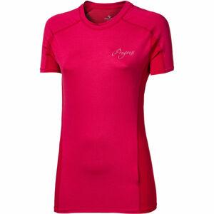 Progress CONTACT LADY růžová L - Dámské sportovní triko