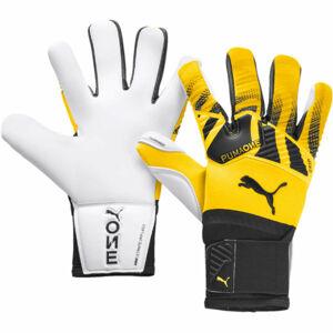 Puma ONE GRIP 1 HYBRID PRO žlutá 10 - Pánské brankářské rukavice