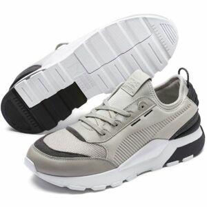 Puma RS 0 CORE šedá 8.5 - Pánské volnočasové boty