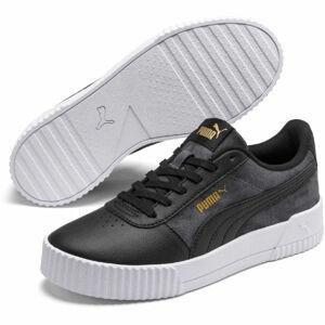 Puma CARINA TIE DYE černá 6 - Dámské volnočasové boty