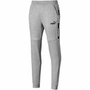 Puma AMPLIFIED PANTS FL šedá XXL - Pánské kalhoty