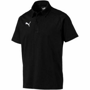 Puma LIGA CASUALS POLO černá M - Pánské polo triko
