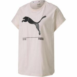 Puma NU-TILITY TEE světle růžová S - Dámské triko