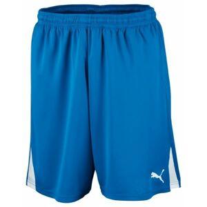 Puma SHORTS TEAM W IS modrá XL - Pánské sportovní kraťasy