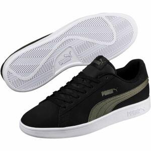Puma SMASH V2 BUCK černá 8 - Pánské boty pro volný čas