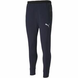 Puma TEAM FINAL 21 CASUALS SWEAT PANTS tmavě modrá XXL - Pánské kalhoty