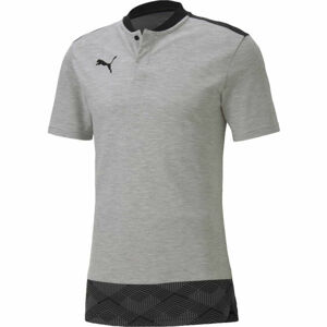 Puma TEAM FINAL 21 CASUALS POLO šedá L - Unisex triko