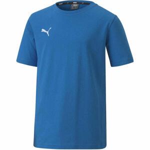 Puma TEAM GOAL 23 CASUALS TEE JR  164 - Chlapecké fotbalové triko