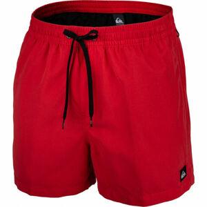 Quiksilver EVERYDAY VOLLEY 15 červená XL - Pánské koupací šortky
