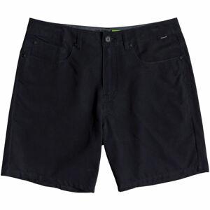 Quiksilver NELSON SURFWASH AMPHIBIAN 18 černá 33 - Pánské módní/koupací šortky